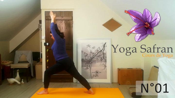 Cours de yoga 01 - séance accessible débutants 30mn -