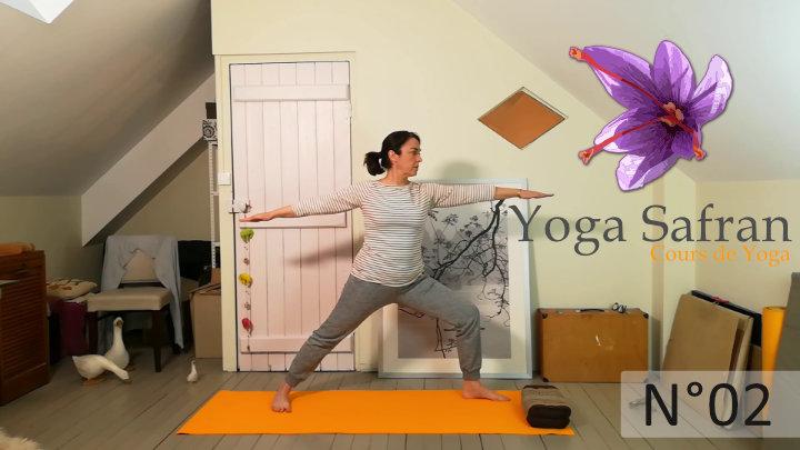 Cours de Yoga n°2 - séance de 30 mn -